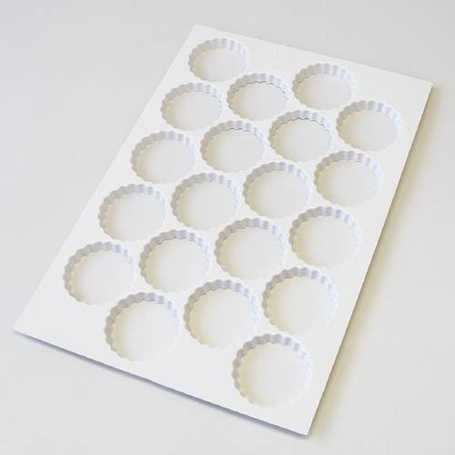 Cookie cutting sheets