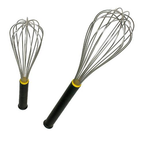 Stainless steel whisk, 8 wires