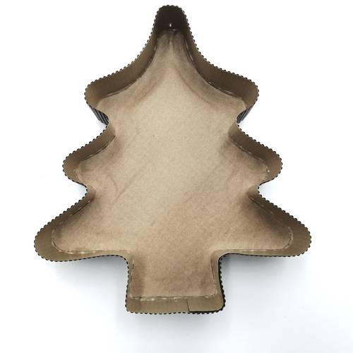 Christmas tree paper moulds