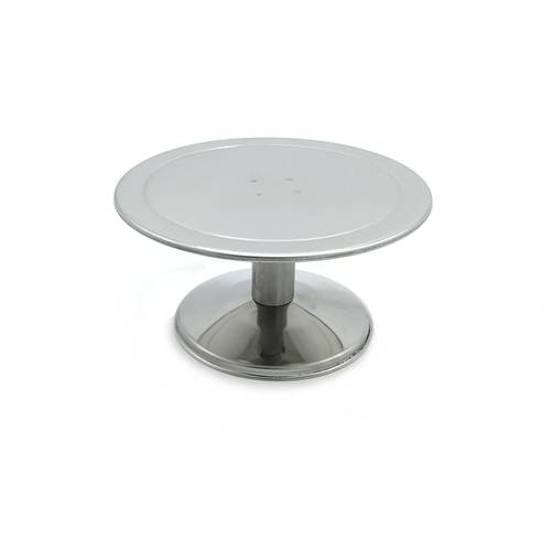 Small cake stand made of stainless steel