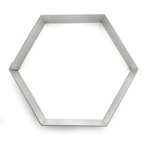 Stainless steel hexagonal cake rings