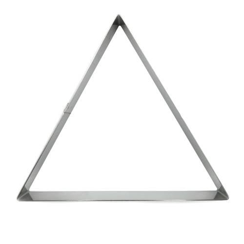 Ringe für dreieckige Kuchen aus Edelstahl