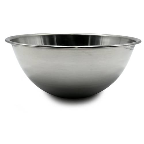 Hemispherical mixing bowl
