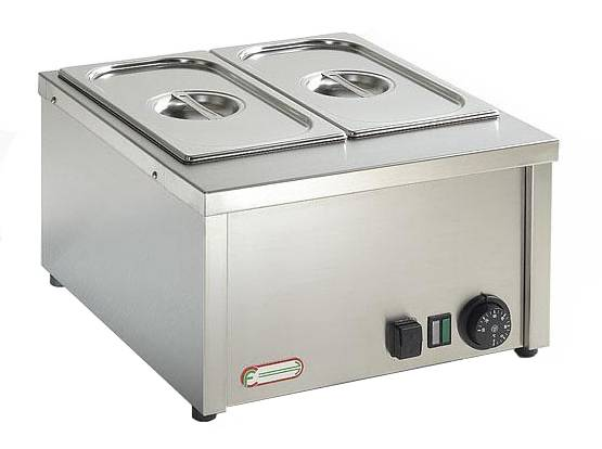 Electric bain marie GN 2/3