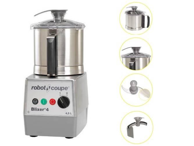 Blixer® 4 ROBOT COUPE three phase
