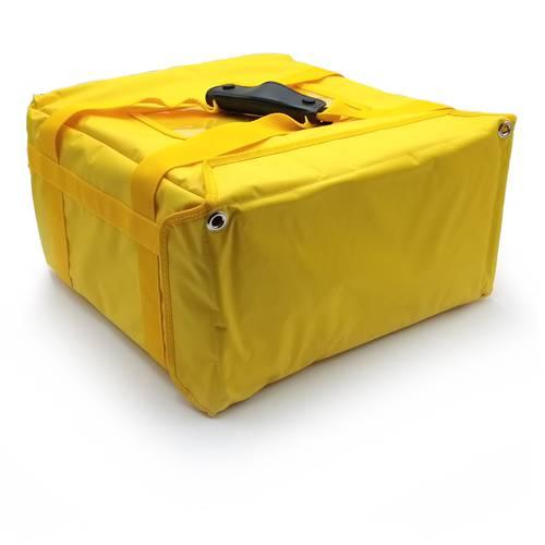 Rigid thermal bag for takeaway pizzas