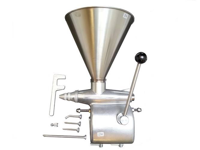 Manual cream or jam filling machine