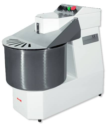 Spiral dough mixer 17 kg with front panel professional