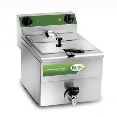 Deep fryer 10 liters with drain tap MFR10R