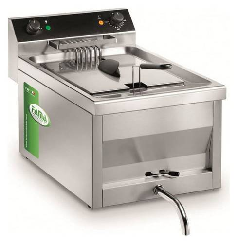 Deep fryer 12 liters with drain tap MFR12R