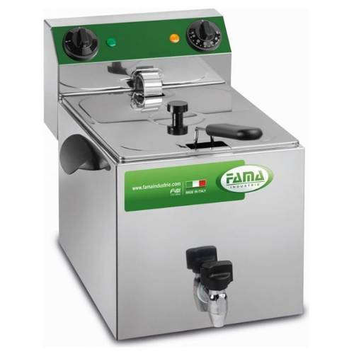 Deep fryer 6 liters with drain tap MFR80R