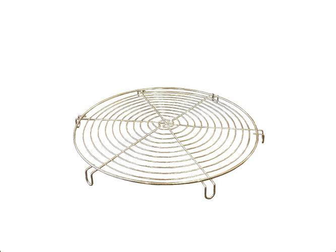 Round cake cooling rack