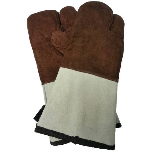 Lined oven gloves