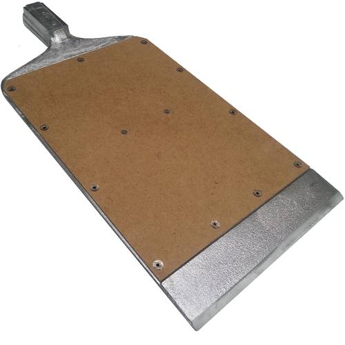 Paddle to take out from oven baking trays