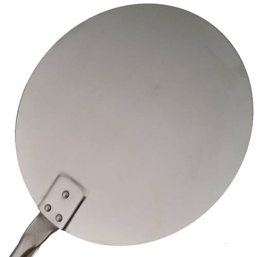 Household small round pizza peel stainless steel Lilly