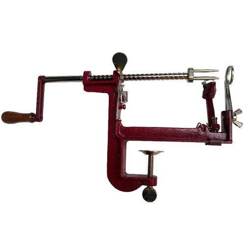 Manual apple peeler and corer