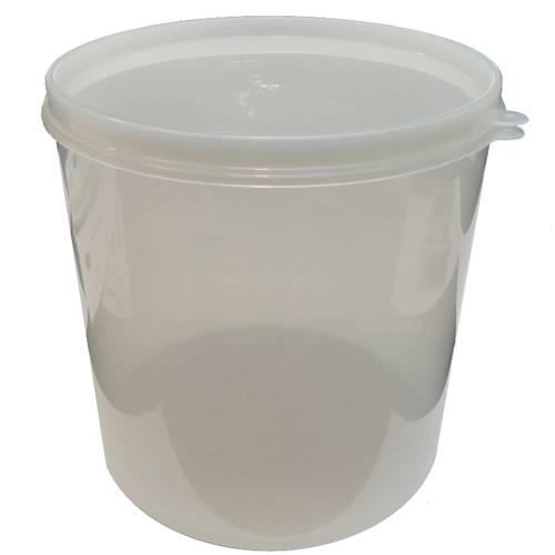 Zylinderförmiger Vakuumbehälter für Lebensmittel