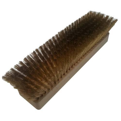 Ricambio spazzolone ottone e legno cm 30x7