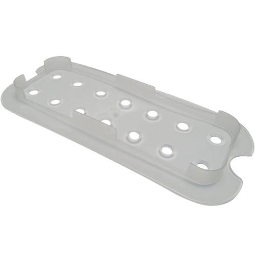 Perforated false bottom for gastronorm pans in polypropylene