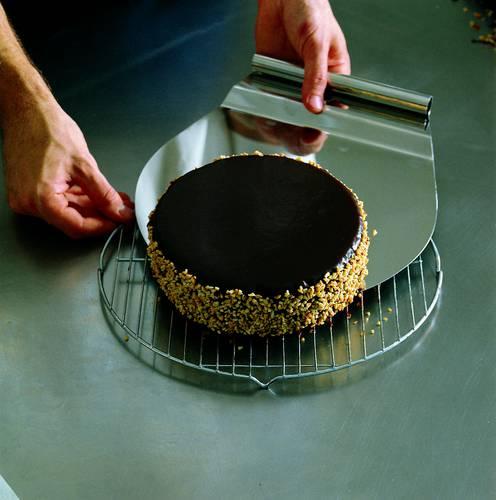 Cake shovel cm. 28, stainless steel
