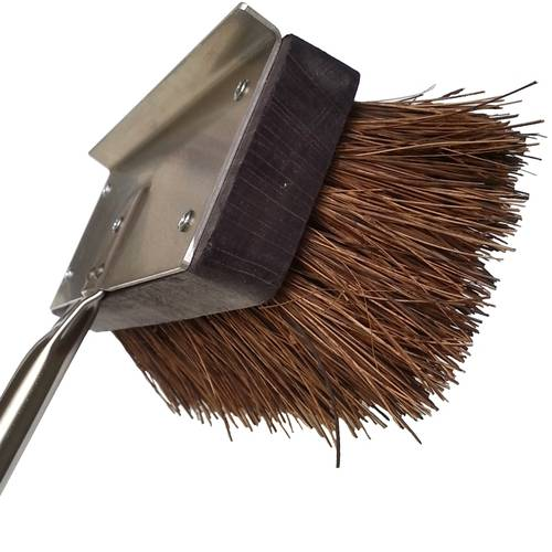 Pizza oven natural bristle brush