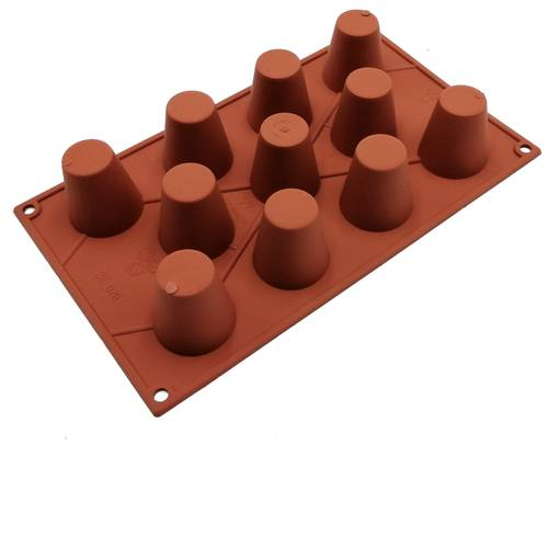 Silicone moulds for babà