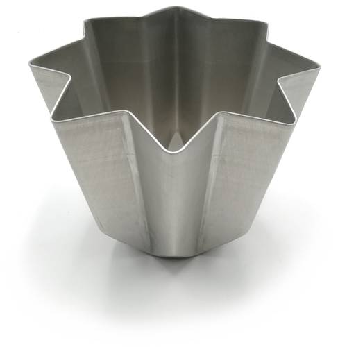Pandoro Form aus Aluminium