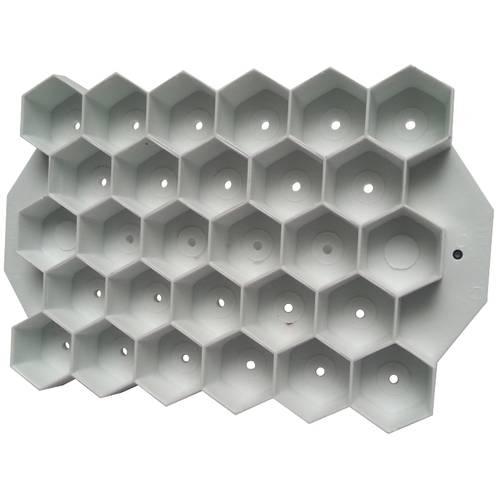 Hexagonal bread mould