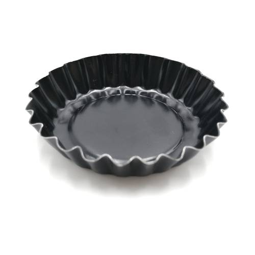 Round fluted tart mould