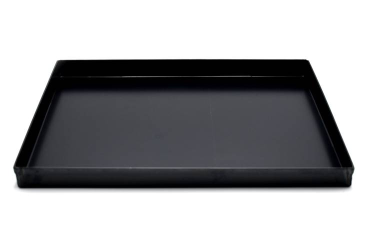 Baking tray in blue iron 30x40 cm