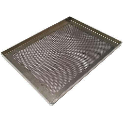 Teglia da forno forata in alluminio cm 30x40