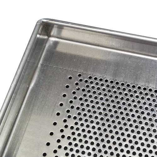 Perforiertes Backblech aus Aluminium 60x80 cm