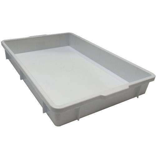 Plastic containers with handles cm 60x40x6
